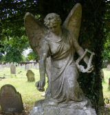 Newbury Cemetery Angel